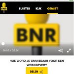 BNR onmisbaar worden juli 2017