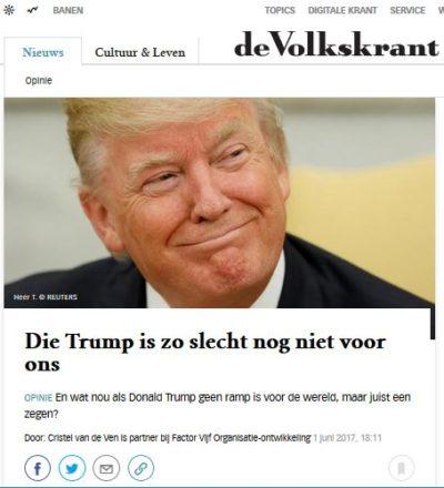 Cristel Volkskrant 2 juni 2017
