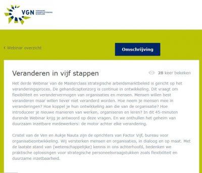 VGN webinar